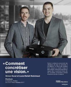 Femtum Boursier Pierre Peladeau 1er Prix